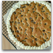 Homemade Chocolate Chip Cookie Cake