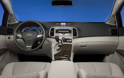 2012 Toyota Venza Interior