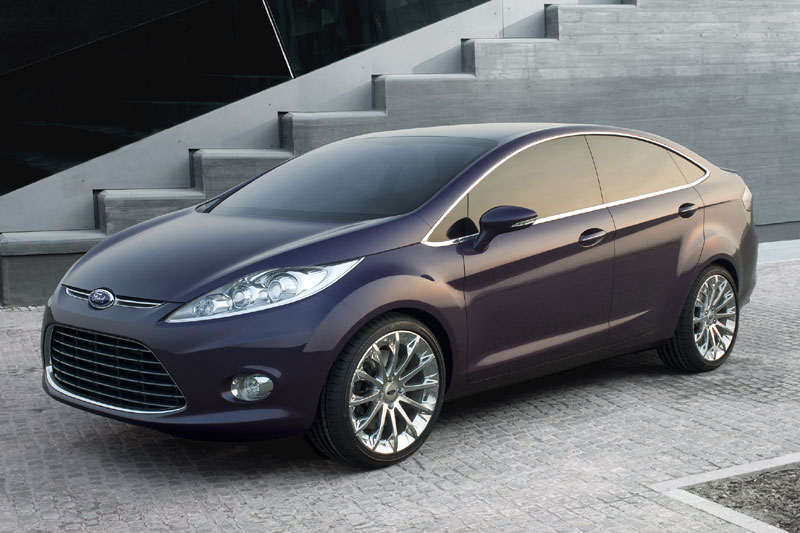 New Ford Fiesta - A Strong New Look For the Automobile Star