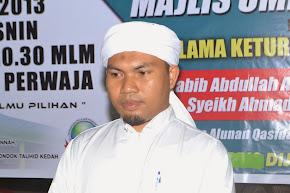 PENGERUSI MUAS - Ustaz Aminuddin Abdul Rahim