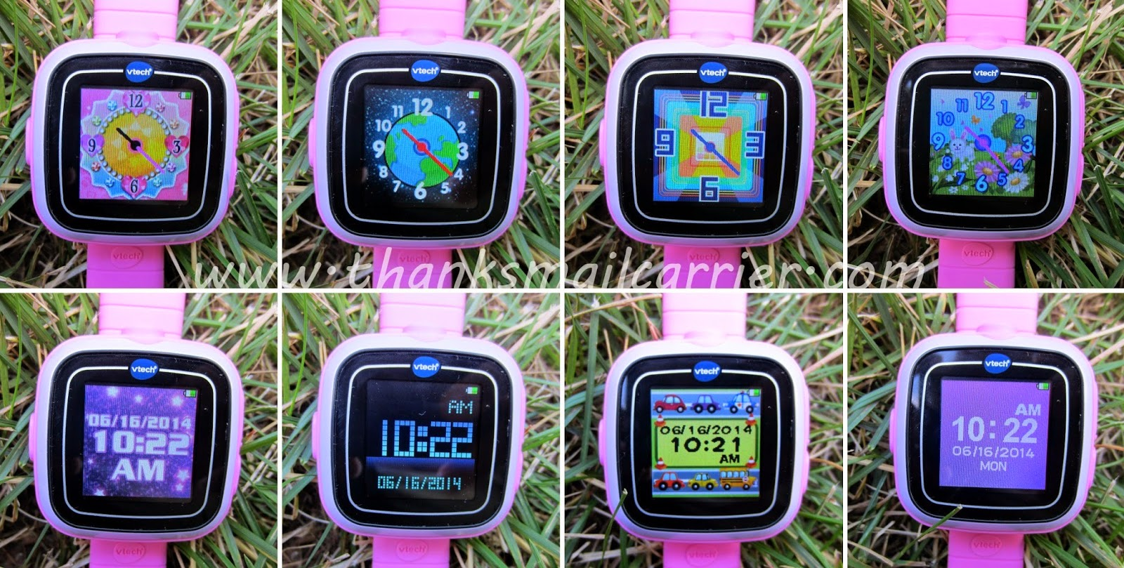 VTech kids watch faces