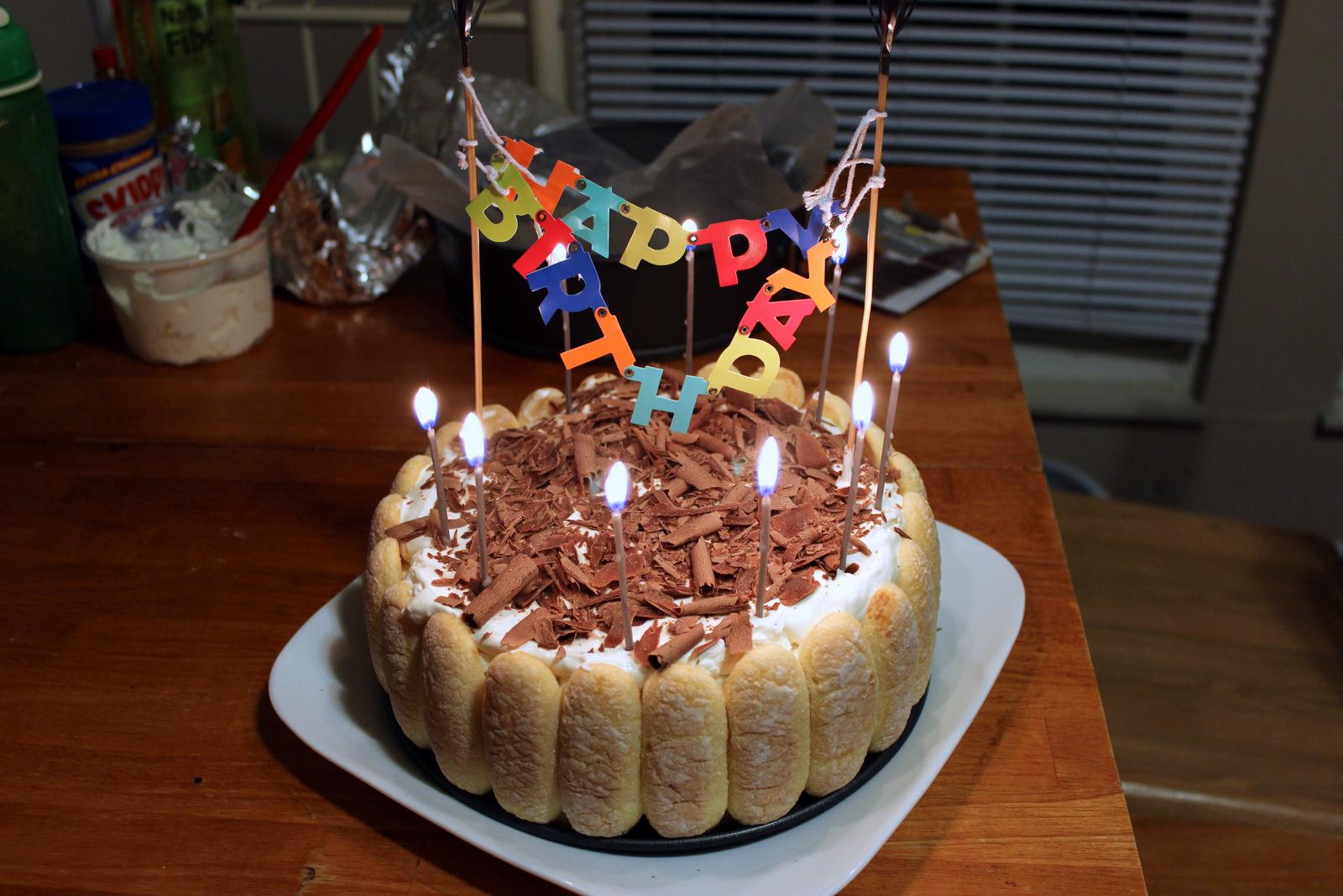 MelonChef Khois Birthday Part 2 Tiramisu Ice Cream Cake
