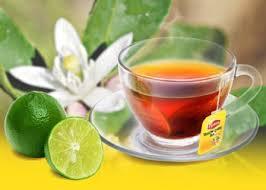 một ly trà chanh thom ngon