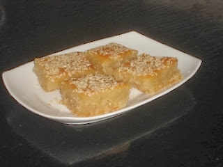 Traditional Greek Ravani Recipe