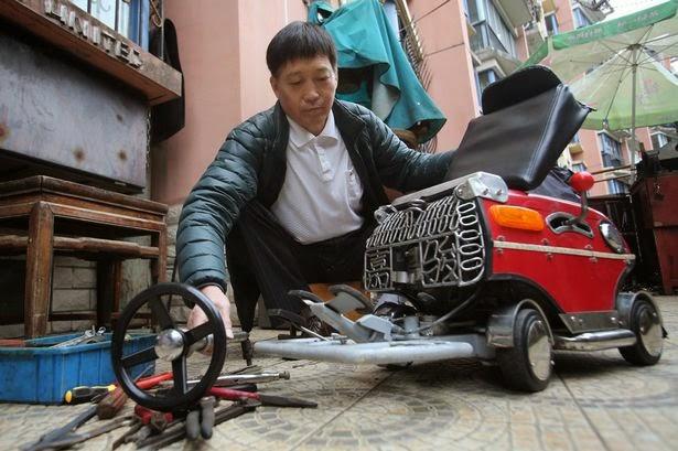 Είναι αυτό το μικρότερο αυτοκίνητο στον κόσμο;