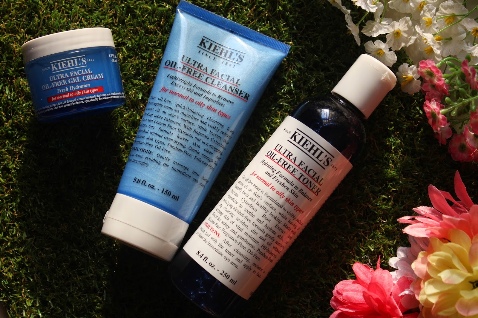 Kiehls Ultra Facial Oil Free Skincare Range For Oily Skin Regina Chow Cleanser 150ml