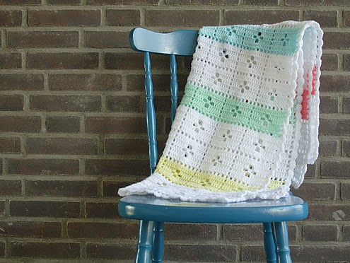 Call the midwife, crochet blanket