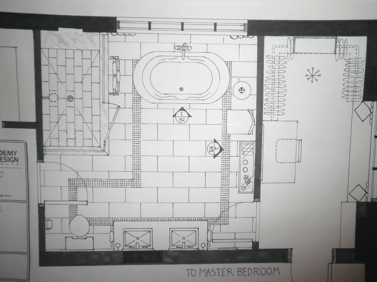 Kitchen Plan Elevation View : Tiffany leigh interior design projects