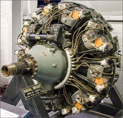 Wright Duplex Cyclone aircraft engine
