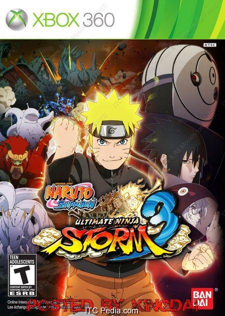 Naruto Shippuden Ultimate Ninja Storm 3 NTSC XBOX360 - iNSOMNi