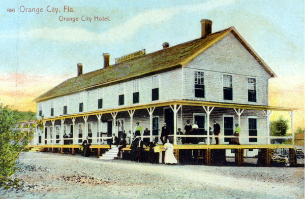 Old Florida Preserving The Orange City Historic District