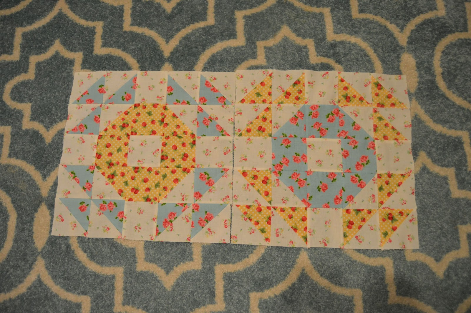 Missys Homemaking Adventures Single Wedding Ring Quilt