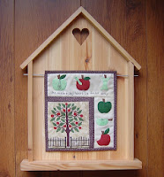 Mini quilt Appels