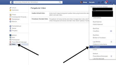Menonaktifkan Fitur Autoplay Video Di Facebook