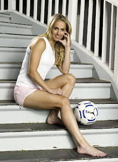 Hot Female Soccer Player Heather Mitts