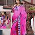 Sarees | Pink and Magenta Shaded Saree | Indian Bridal Wear Saree | Wedding Party Wear Saree | Party Wear Saree 2013 | Latest Wedding Saree