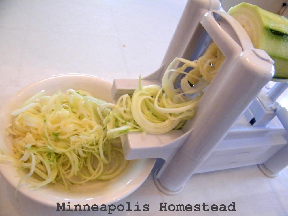 machine to make zucchini noodles
