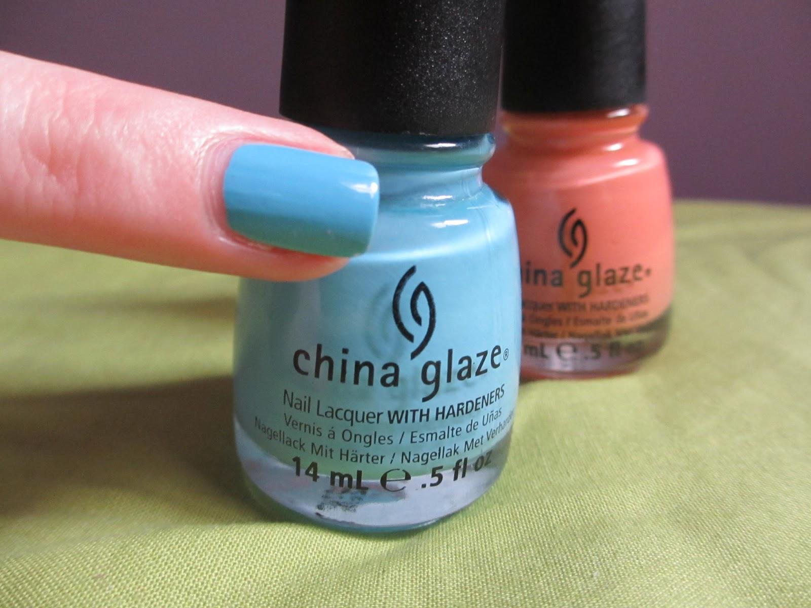 china glaze bahamian escape