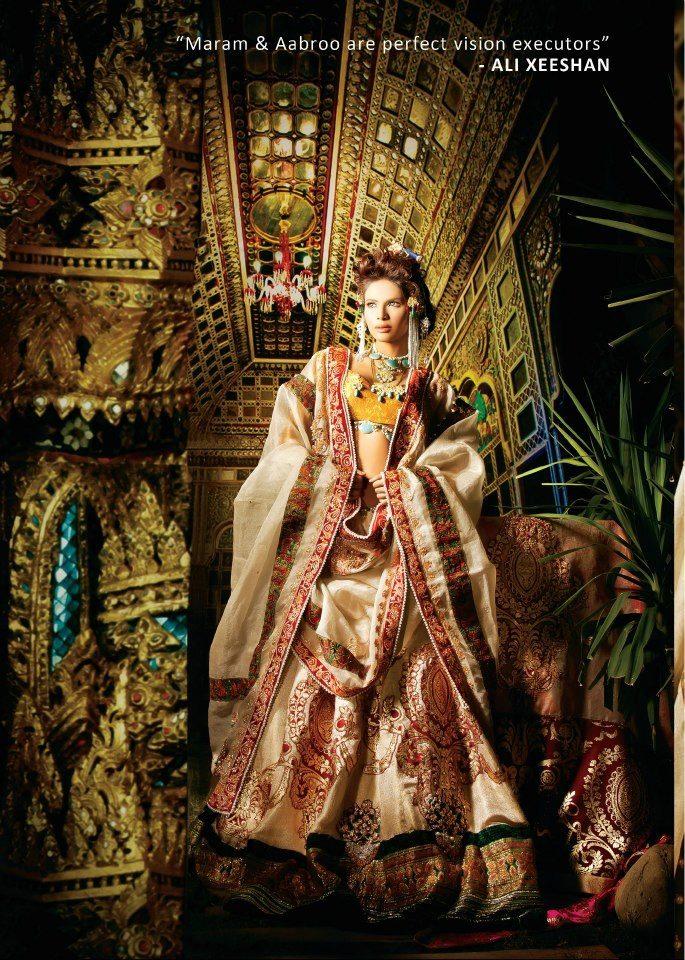 Ali Zeeshan Bridal Couture