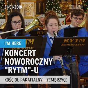 """Koncert Noworoczny Orkiestry Dętej """"Rytm"""" 2018"""
