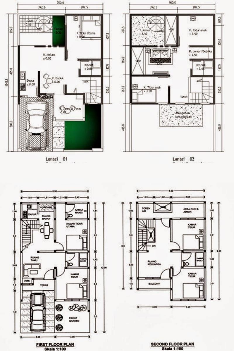 Kumpulan Desain Rumah Minimalis Modern Contoh Desain