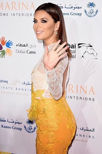 Eva Longoria in Dubai