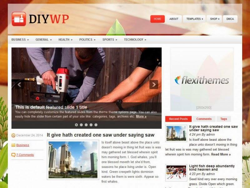 DIYWP - Free Wordpress Theme