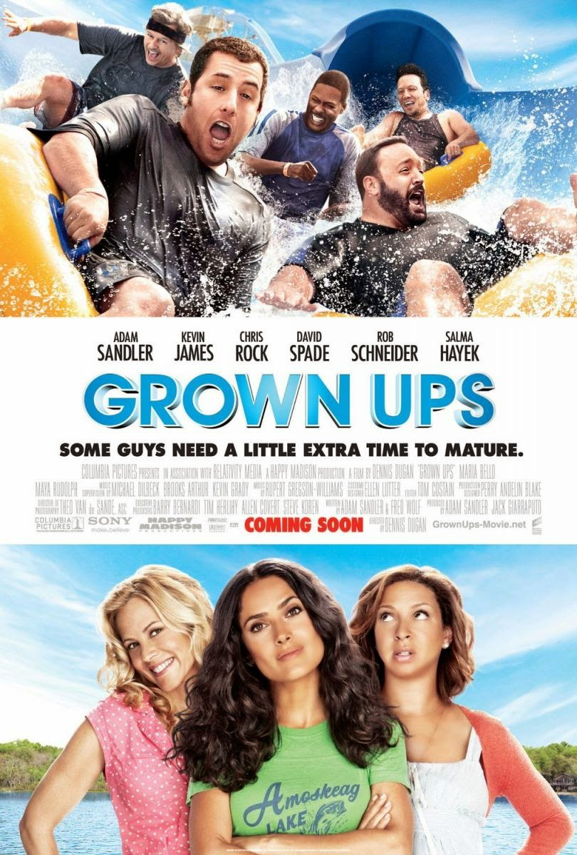 Ver Grown Ups (2010) Online
