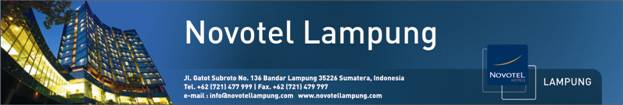 Lowongan Kerja Hotel Novotel Lampung Maret 2014