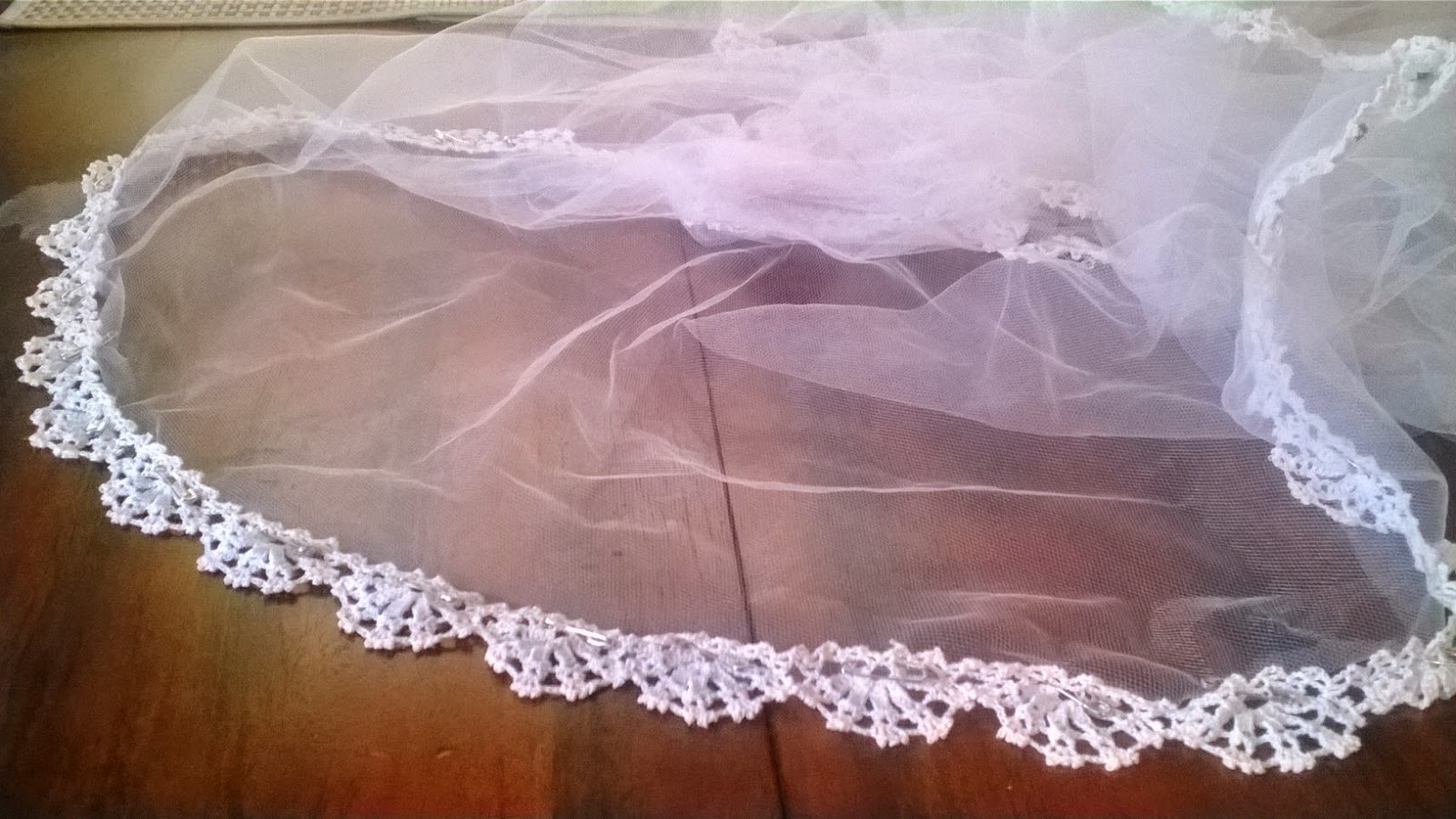 Craft Disasters and other Atrocities: The Crochet Lace Veil Project