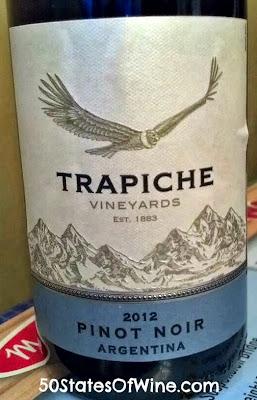 Trapiche Pinor Noir 2012