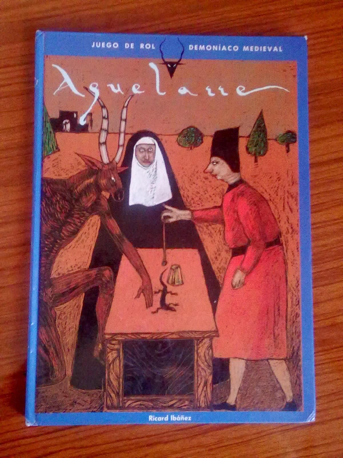 Rol de los 90 aquelarre juego de rol demon aco medieval - Juego de rol de mesa ...