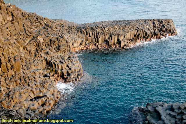 jungmun cliff