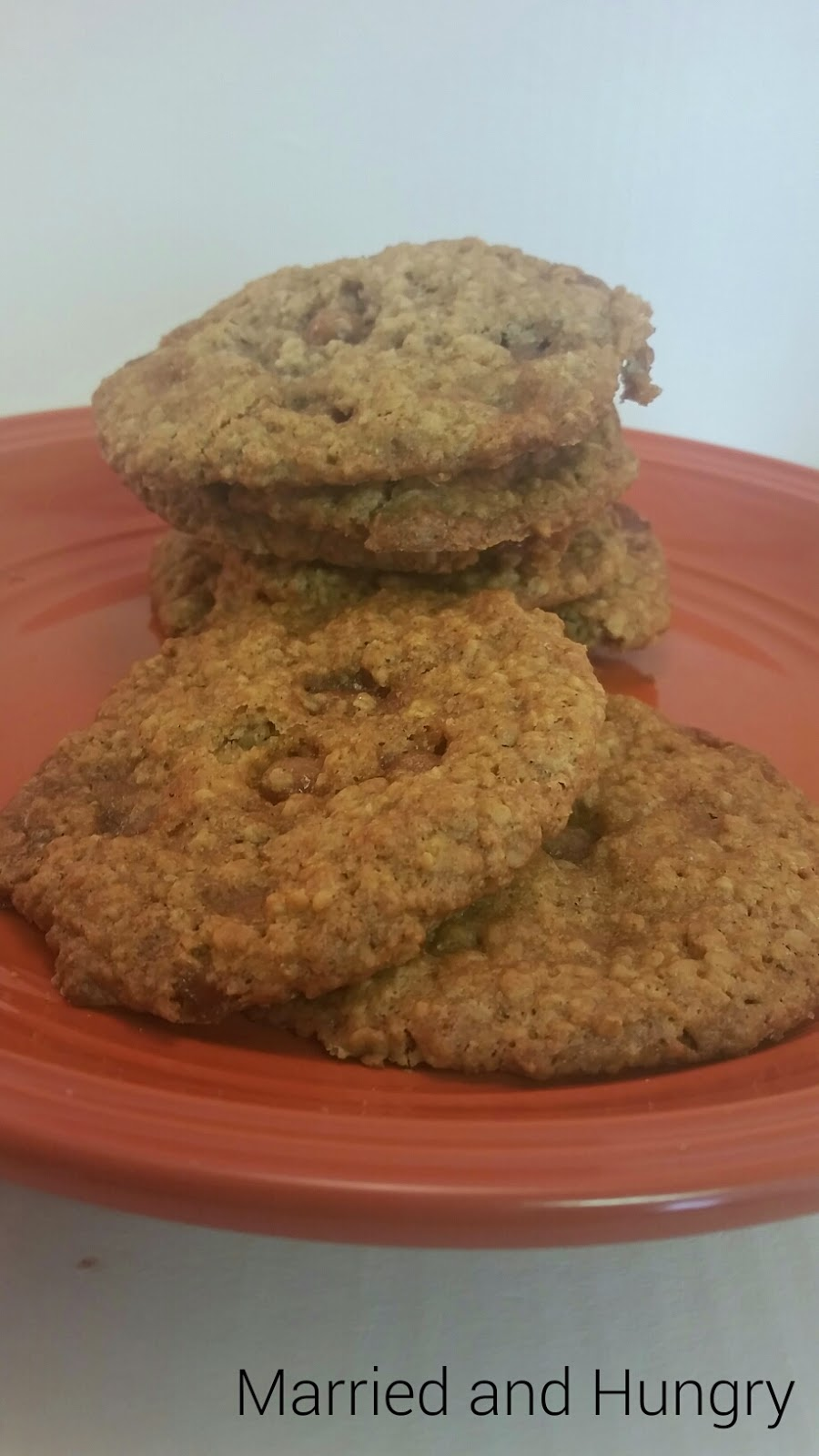 Caramel Oatmeal Cookies! A delicious recipe!