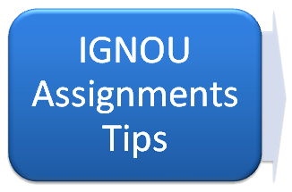 answers to ignou assignments