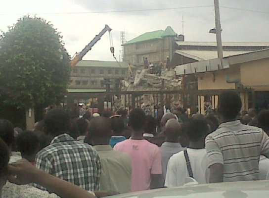 tb joshua church collapsed lagos