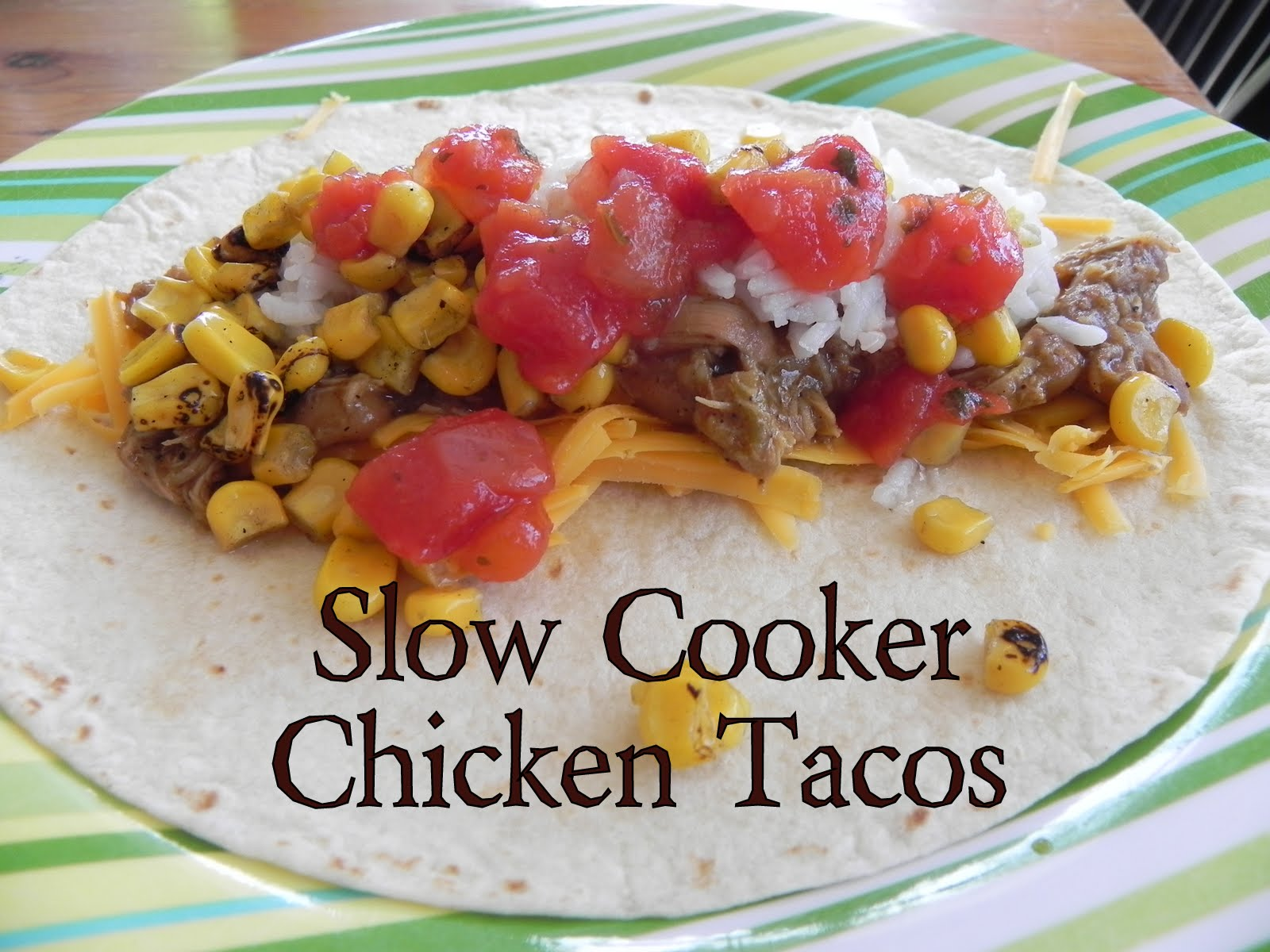 Gift of Simplicity: Slow Cooker Chicken Tacos