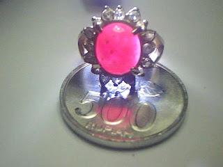 Batu Cincin Ruby Burma