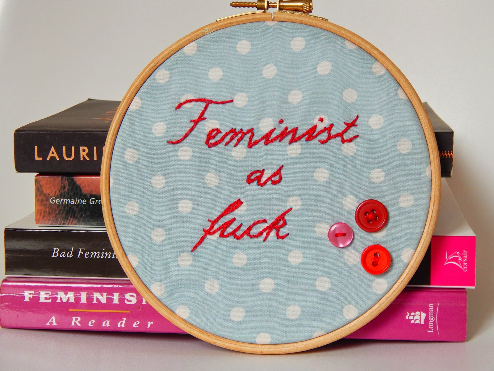 Words that can only be your own made slogan embroidery hoop