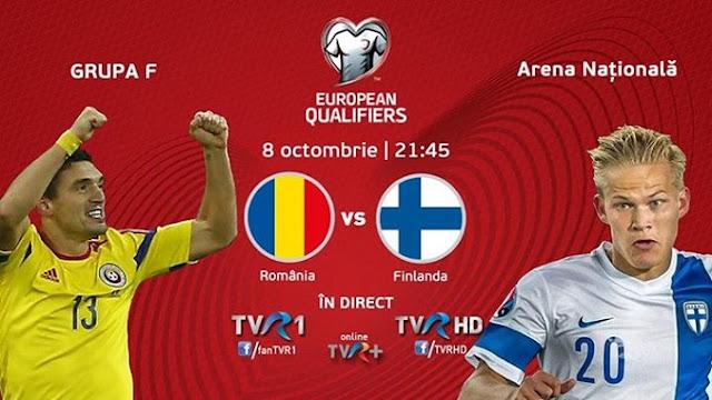 Romania Finlanda live euro 2016