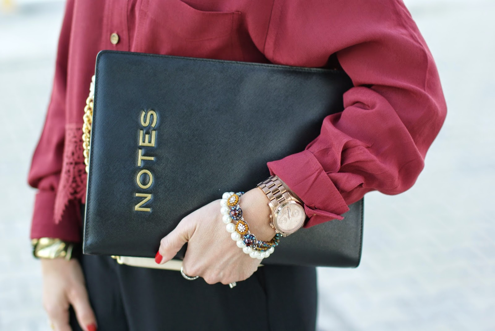 Sodini bracelet, Moschino notes bag, Fashion and Cookies, fashion blogger