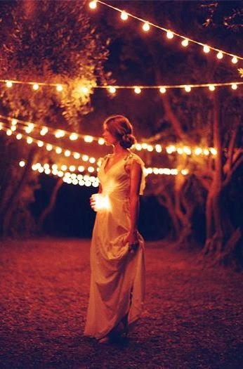 Fotografía novia y velas