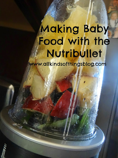 Making Homemade Baby Food with a Nutribullet