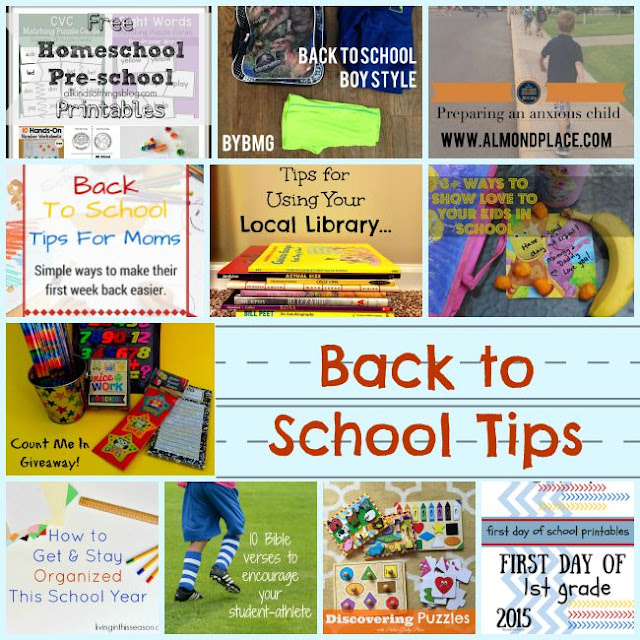 Back to School Blog Hop