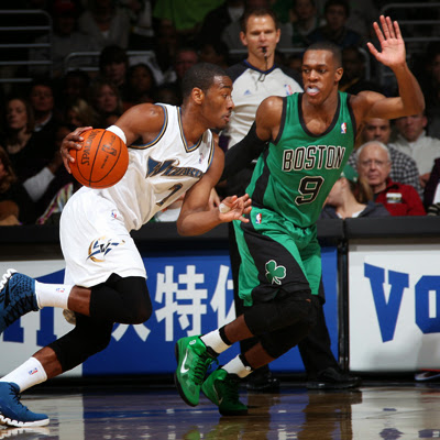 Rondo wishes his Kentucky buddy John Wall the best in his first playoffs