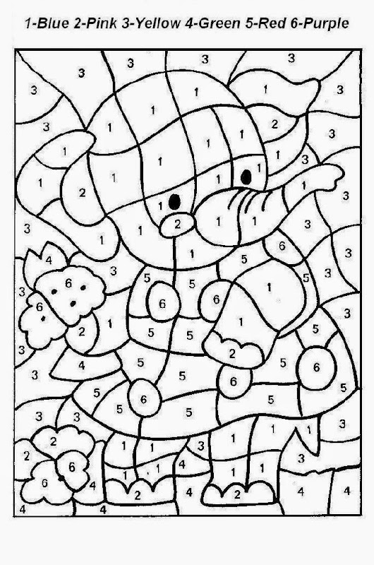 frozen coloring number pages - photo#3