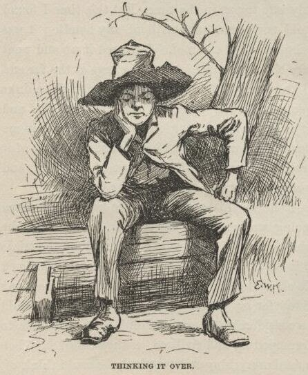 huckleberry finn and tom sawyer: two different ways of thinking essay A study of mark twain's adventures of huckleberry finn is an adventures of tom sawyer and the of huckleberry finn harvey and william wilks, peter's two.