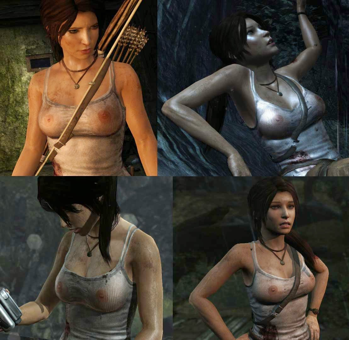 Lara croft nude raider gif and 3d  adult scene