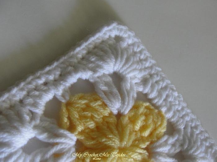 TRICO y CROCHET-madona-mía: Gráficos a crochet-ganchillos cuadrados ...