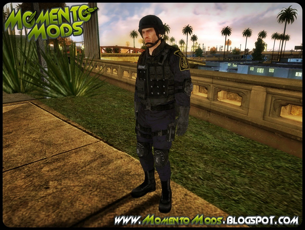 GTA SA - Skin Police